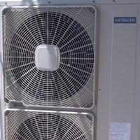 Εγκατάσταση αντλίας θερμότητας Hitachi 25.5 kW
